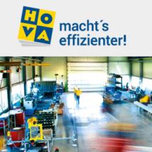 HOVA Maschinenbau GmbH - Referenz OfficeNo1