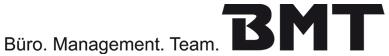BMT Büro. Management. Team. - Referenz OfficeNo1