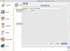 OfficeNo1_paramete Neuer HTML SendeDlg